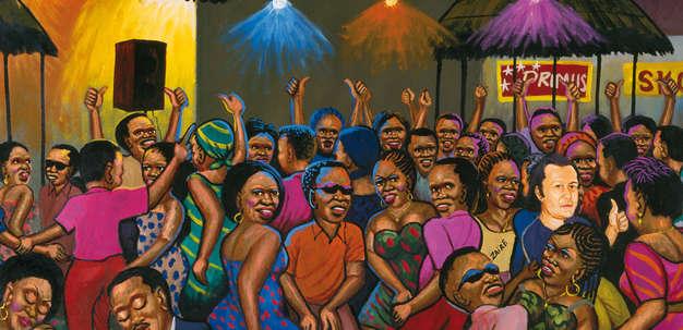 Congo-Stars im Kunsthaus Graz